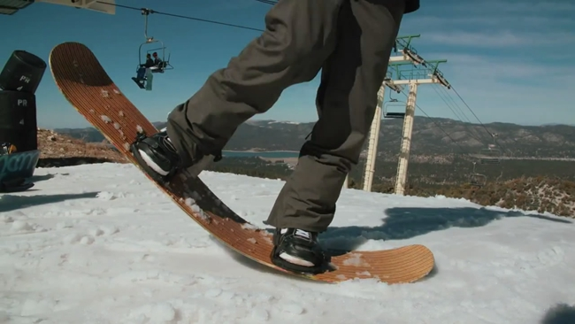 Every Third Thursday   Strung Out   Veneer Laminated Surfboard Stringer Snowboard-2015-02-22 21-25-35