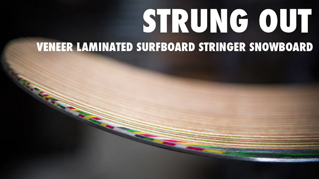 Every Third Thursday   Strung Out   Veneer Laminated Surfboard Stringer Snowboard-2015-02-22 21-25-53