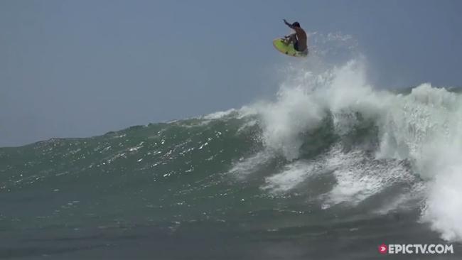 EpicTV Video- Benjamin Sanchis And Friends Getting Deep In Massive Barrels In Mexico - EpicTV[10201511195537GMT]