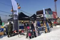 SMOKIN单板新款试滑 辽阳弓长岭滑雪场站顺利结束