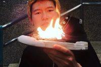 中国新生代风格滑手首度亮相美国硬核品牌官方ins